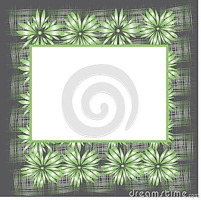 Original floral frame