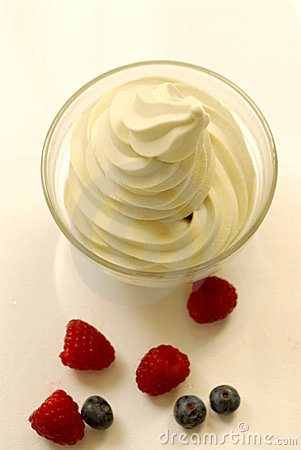 Original Frozen Yogurt Royalty Free Stock Photos - Image: 5872528