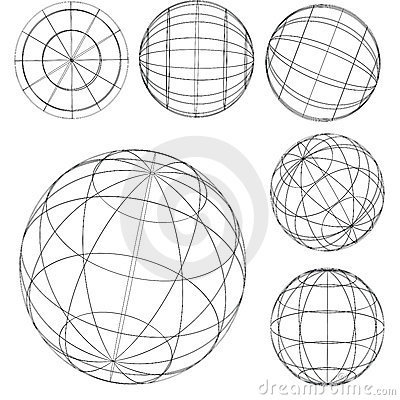 Free Original Globe Elements-spheres Stock Images - 1953334