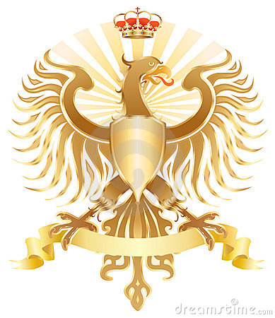 Original golden eagle crest