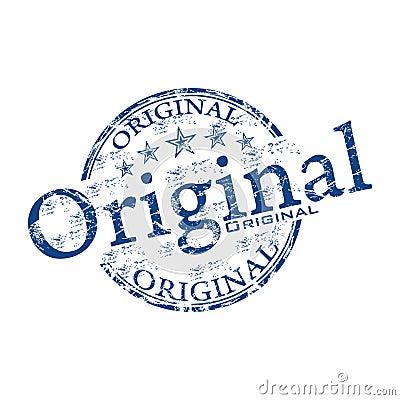 Original grunge rubber stamp