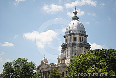 Original Illnois State Capital Building