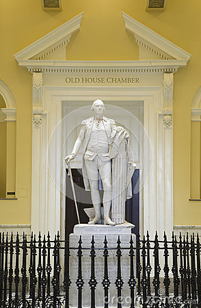 Original life-size statue of George Washington Editorial Photo