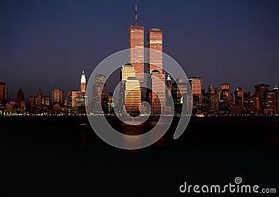 Original Manhattan Skyline