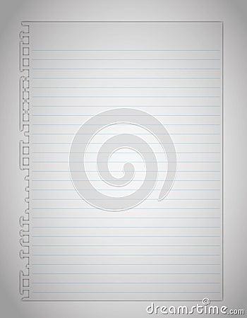 Original new paper page.
