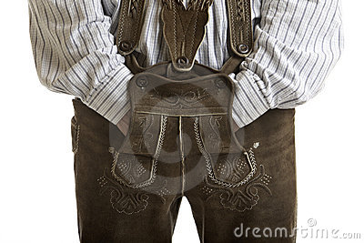 Original Oktoberfest Leather trousers (Lederhose)