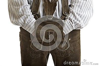 Original Oktoberfest Leather trousers (Lederhose)