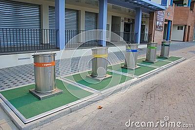 Original recycle bins