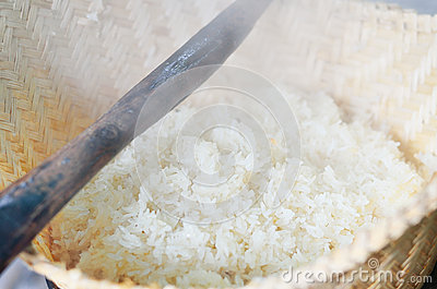 Original rice cooking