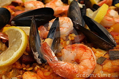 Original spanish Paella