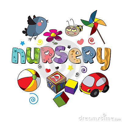 Image result for the word nursery