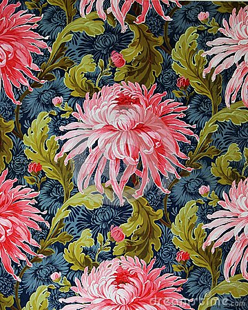 Free Original Textile Fabric Ornament Of The Modern Style. Crock Is Hand-painted With Gouache. Stock Photo - 103089040