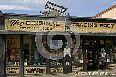 The Original Trading Post Editorial Stock Image