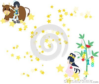 Orihime and Hikoboshi