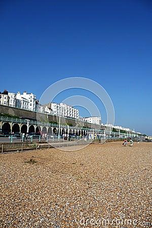 Orilla del mar de Brighton