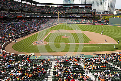Orioles Park at Camden Yards Editorial Photography
