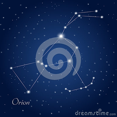 Free Orion Constellation Royalty Free Stock Image - 61717656