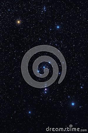 Orion konstellation