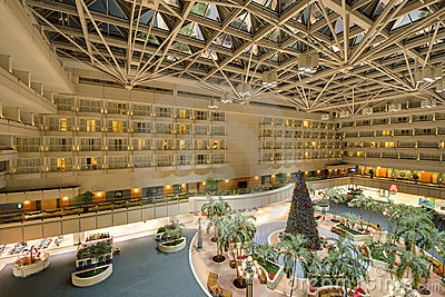 Orlando International Airport Editorial Stock Image