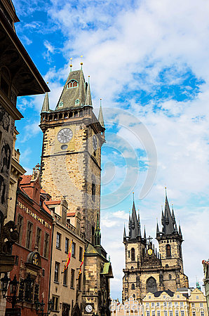 Orloj Tower Prague, Czech Republic