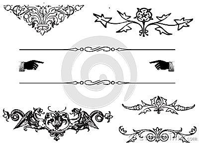 Ornamentów elementy