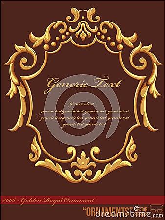 Ornament #006 - Golden Royal Ornament