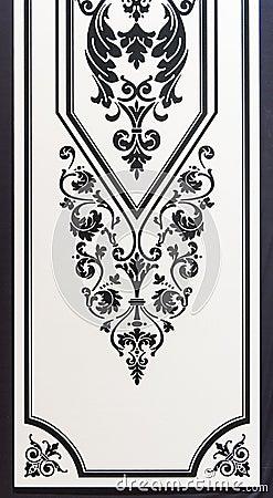 Free Ornament Design Ornamental Pattern Stock Image - 49474601