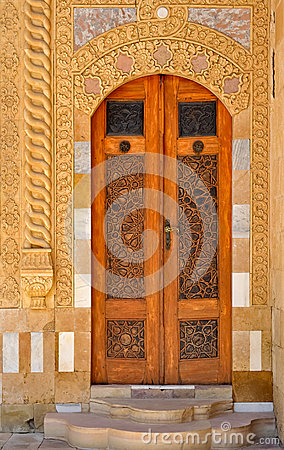 Ornament door