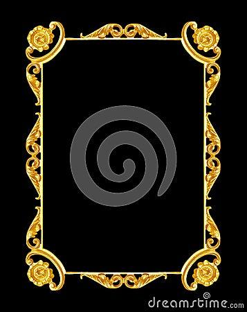 Gold Floral Frame Ornaments Decoration 28 Images