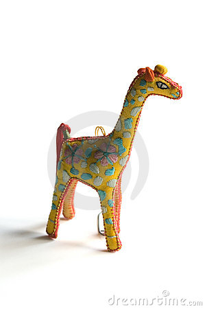 Ornament-Giraffe Royalty Free Stock Image - Image: 325976