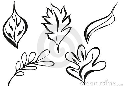 Ornament leaf patterns