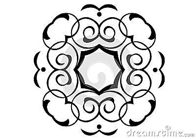 Ornament in vectors