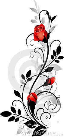 Free Ornament With Rose Stock Photos - 14712733