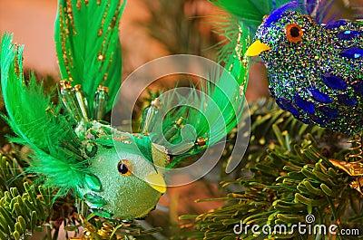 Ornamentacyjny ptak