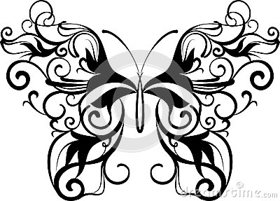 Ornamental бабочки