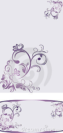 Ornamental backgrounds for decor