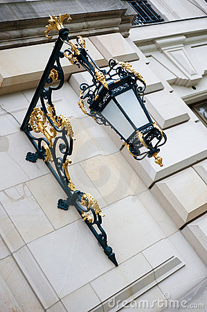 Ornamental baroque lantern