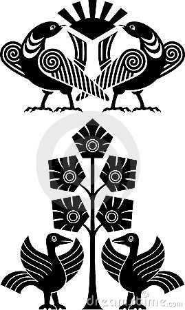 Ornamental bird