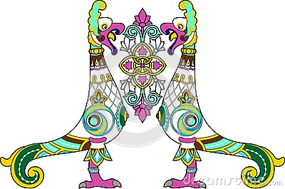 Ornamental bird