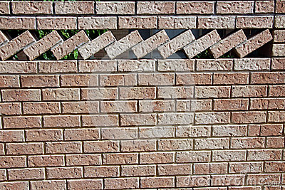 Ornamental Brick Wall