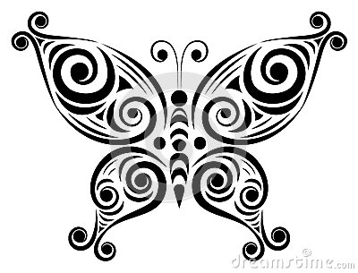 Ornamental butterfly 2.