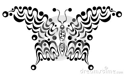 Ornamental butterfly 4.