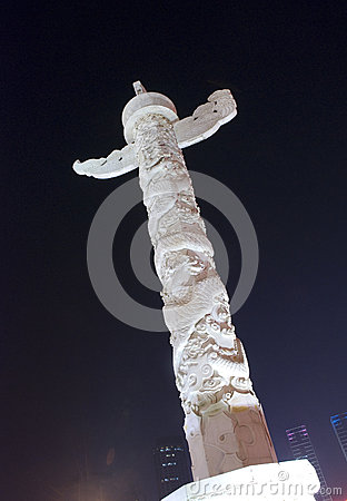 Ornamental column