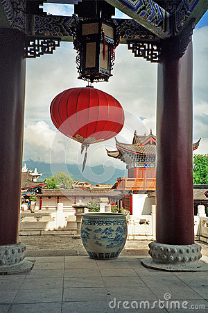 Free Ornamental Courtyard Of Palace In Lijiang, China Stock Images - 43906894