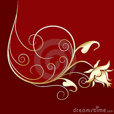 Ornamental design, vector