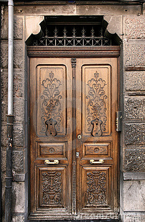 Free Ornamental Door Royalty Free Stock Photos - 12386258