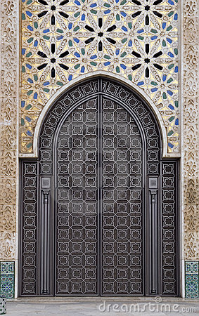 Ornamental door
