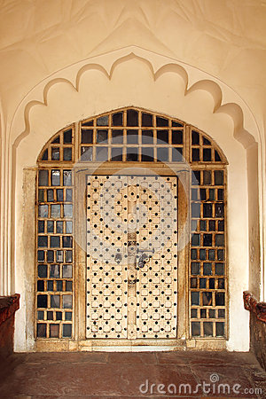 Ornamental door in India