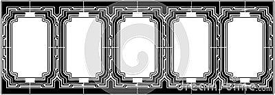 Ornamental Frame Vector 03