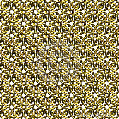Free Ornamental Gold Surface Royalty Free Stock Photo - 3174915